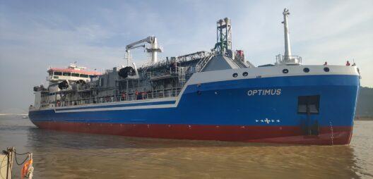 Elenger Marine Optimus LNG bunker vessel Optimu